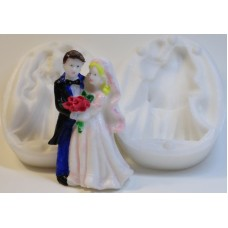 """Молд 3D """"Жених и невеста"""""""