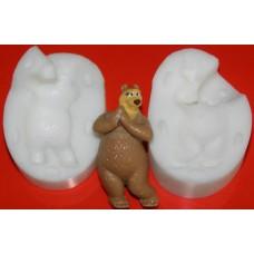 "Молд 3D ""Медведица"" (маленькая)"