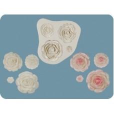 Молд розы разного размера