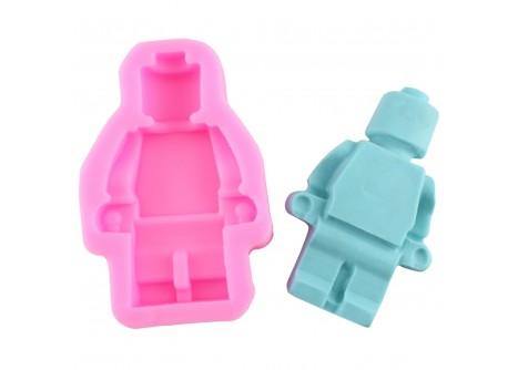 """Силиконовый молд """"Лего робот"""""""